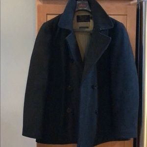 J Crew Pea Coat with Thinsulate